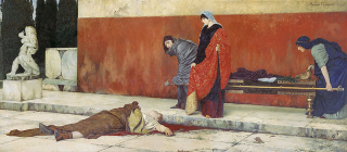 The Death of Nero, by Vasily Smirnov (1888).