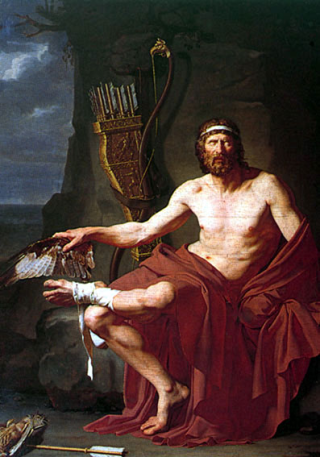 Philoctetus on the Island of Lemnos (1788), by Jean Germain Drouais. Wikimedia.