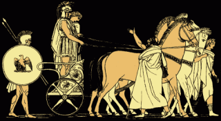 The Return of Agamemnon, from Stories from the Greek Tragedians (1879).