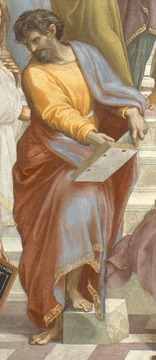 Parmenides  - Detail from Raphael's School of Athens. Wikipedia.