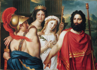 The Anger of Achilles, by Jacques-Louis David. Image by Wikimedia Commons user GuyStairSainty