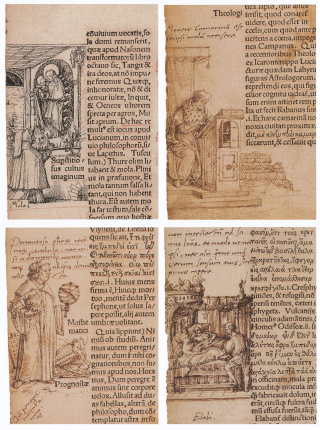 Marginal_Drawings_for_The_Praise_of_Folly_(3) _by_Hans_and_Ambrosius_Holbein