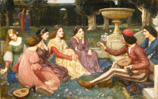 John_William_Waterhouse_-_The_Decameron